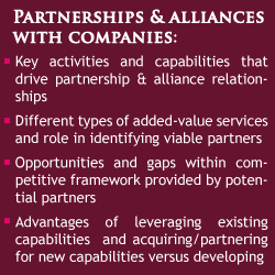 Partnerships and Alliances With Companies